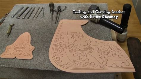carving leather tutorial youtube
