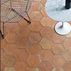 Carrelage Imitation Tomette Hexagonale : carrelage sol terre cuite 20 x 20 cm hexagonale castorama ~ Zukunftsfamilie.com Idées de Décoration