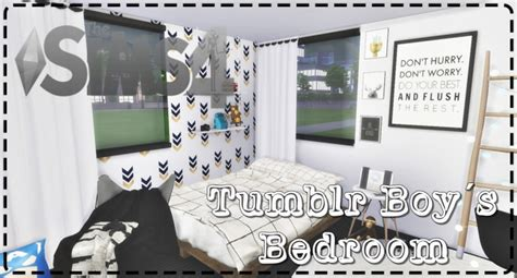 tumblr boys bedroom  lily sims sims  updates