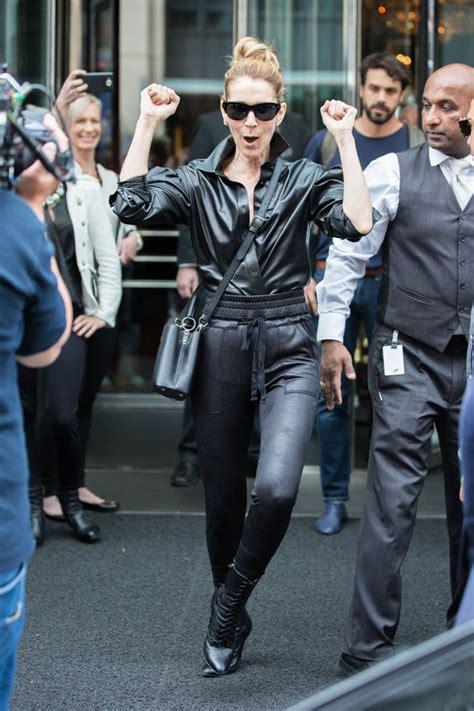 celine dions daily paris fashion shows