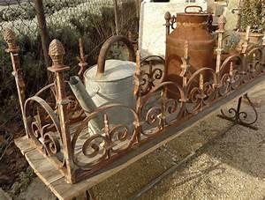 Decoration jardin fer forge deco sphair for Decoration de jardin en fer forge