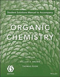 Organic Chemistry Brown Sixth Edition Solutions Manual