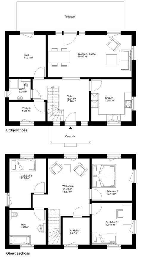 Haus 2 Geschossig by Max Haus 2 Geschossig Vermont Floorplan