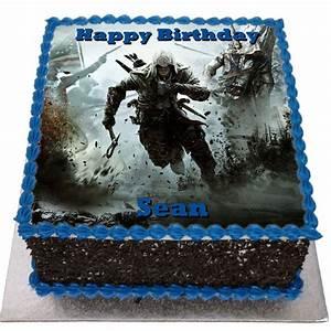 Assassins Creed Birthday Cake - Flecks Cakes