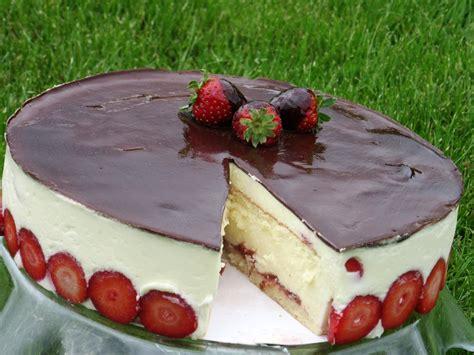 Janas kūkas: Zemeņu kūka fraisier