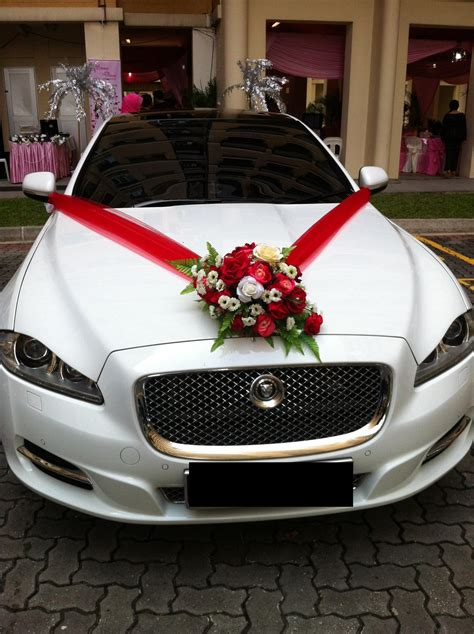 for car wedding car deco cheap