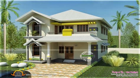 South Indian House Design With Porticos Best Indian House