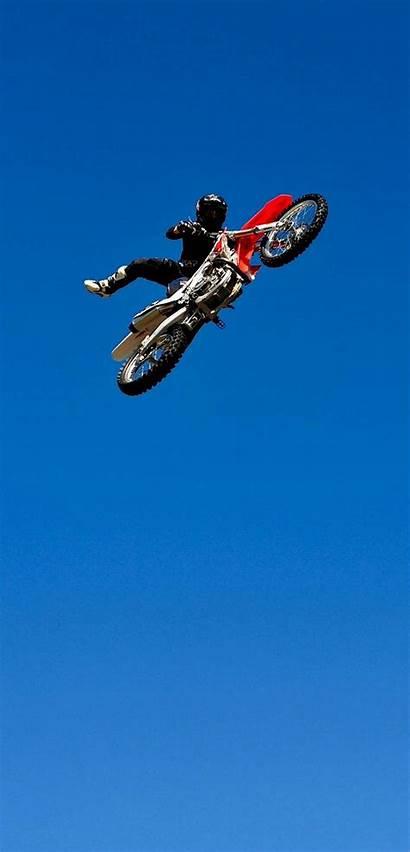 Sky Bike Jump 1440 2992 Setaswall 2400
