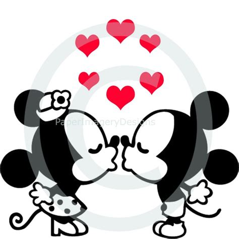 Mickey Mouse Halloween Stencil by Mickey Minnie Kissing Svg
