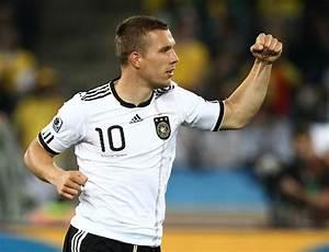 Lukas Podolski Photos Photos - Germany vs Australia at the ...