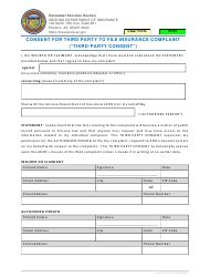 Your insurance policy (all pages). Form C-TPC Download Fillable PDF or Fill Online Consent for Third Party to File Insurance ...