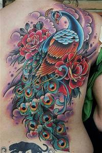 Peacock Bird Tattoos display Color and Beauty « Tattoo ...