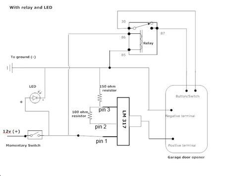 Garage Door Opener Wiring Diagram Neiltortorella