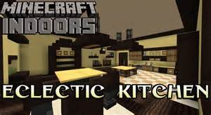 Minecraft Interior Design Kitchen Eclectic Kitchen In Yellow Minecraft Indoors Interior Design