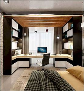 77, Amazing, Home, Office, Design, Ideas, And, Remodel, Make, Your, Work, Comfortable