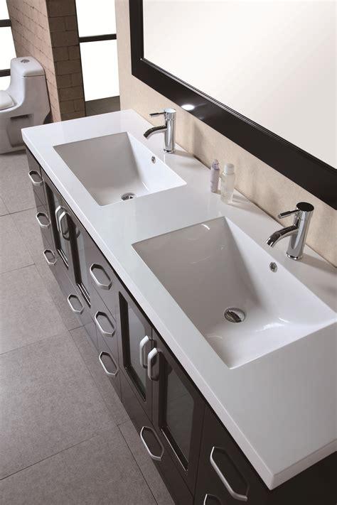 Bathroom Vanity And Sink For Sale by Design Element Stanton 72 Inch Modern Bathroom