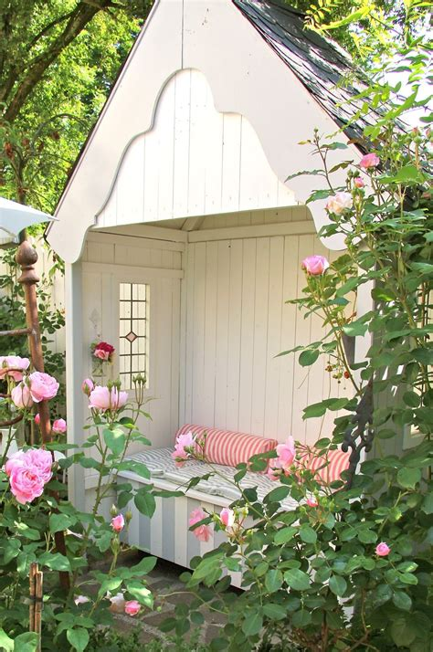 inspirations pour  jardin anglais jardin cabanon