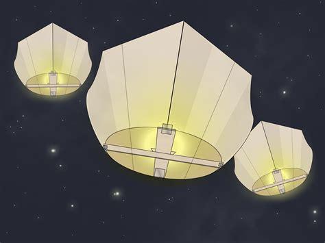 lanterne volanti fai da te come costruire una lanterna volante 7 passaggi