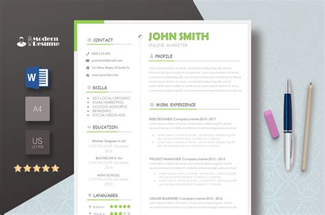 100 Free Resume Templates For Word Downloadable Freesumes Com
