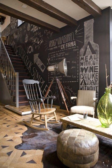 krijtverf kinderkamer krijtbord muur interiorinsider nl