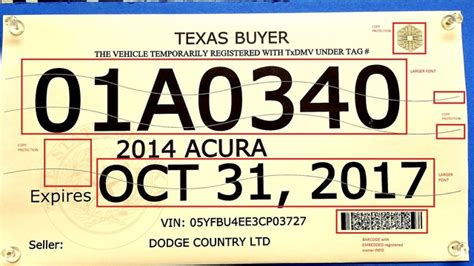 texas temporary license plate temporary license plates being sold for