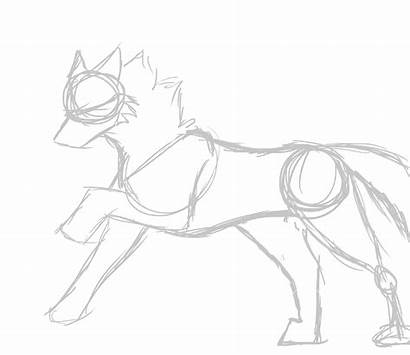 Wolf Drawing Running Anime Drawings Animated Sketches