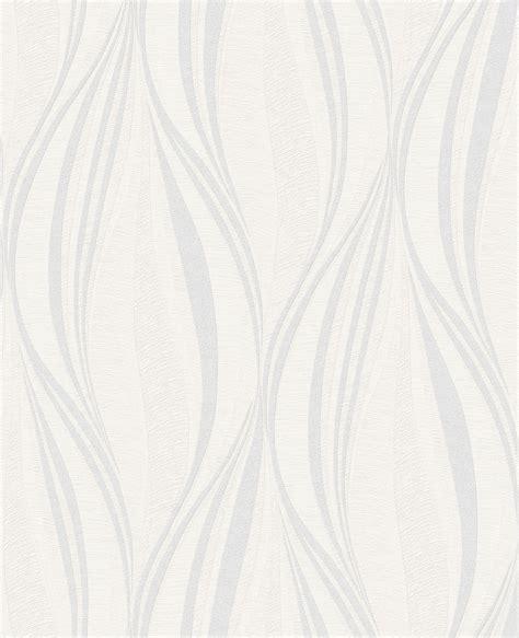 Tango White  Silver  Wallpaper Empourium