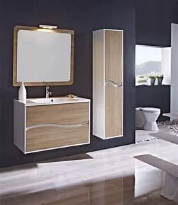 meuble salle de bain design collection triana marque With marque de meuble de salle de bain