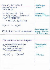 Torsion Berechnen Beispiel : extremalpunkte berechnen beispiel lernwerk tv ~ Themetempest.com Abrechnung