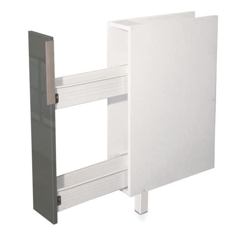 meuble cuisine largeur 55 cm meuble cuisine 25 cm largeur my