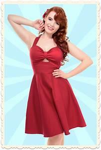 Coiffure Année 50 Pin Up : robe swing r tro pin up sailor colette nautical rouge toutes les robes robes swing ~ Melissatoandfro.com Idées de Décoration
