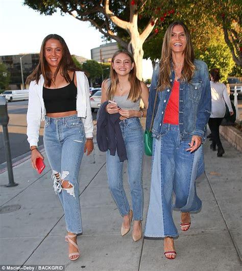 Heidi Klum Seal Treat Daughter Leni Posh
