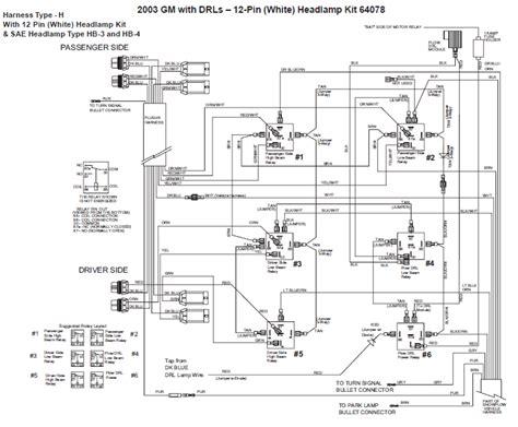 Western Wiring Unimount Chevy