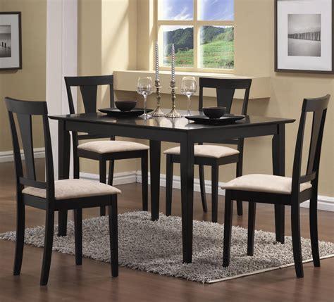 Black Dining Set by Santa Clara Furniture Store San Jose Furniture Store