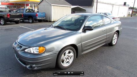 Grand V6 by 2005 Pontiac Grand Am Gt V6 Coupe Start Up Exhaust And