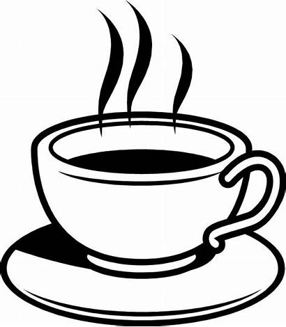 Coffee Clipart Clip Cup Cafe Silhouette Clipartix
