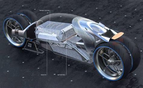 bugatti type  bike concept wordlesstech