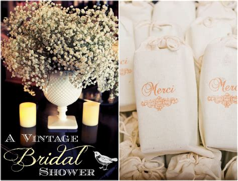 themes for bridal showers vintage inspired bridal shower rustic wedding chic