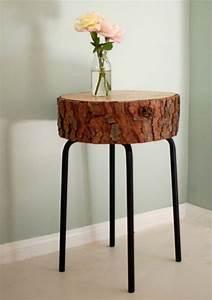 Tabouret Rondin De Bois : 1001 id es table en rondin de bois un tronc peut en ~ Teatrodelosmanantiales.com Idées de Décoration