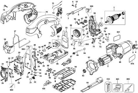 dewalt dw jigsaw parts type  parts