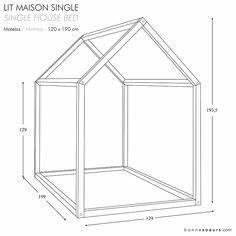 mon diy le fameux lit cabane montessori facile et rapide With decoration d un petit jardin 6 fabriquer un lit cabane pour les petits loulous