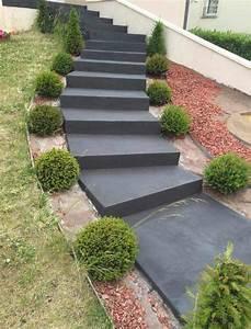 Revetement Escalier Exterieur : escalier ext rieur en b ton cir rouvi re collection ~ Premium-room.com Idées de Décoration