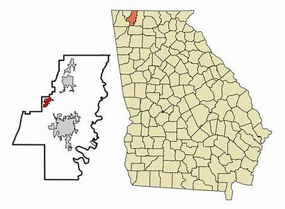 Georgia Whitfield County Dalton Cohutta Svg Ga