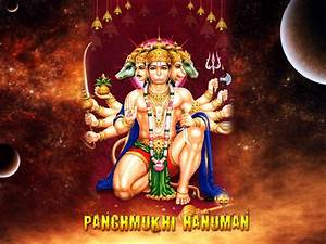 Panchmukhi Hanuman   God Wallpapers - Wallpapers