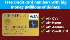Powerful and easy to use. credit card generator   Free visa card, Visa card numbers, Credit card info