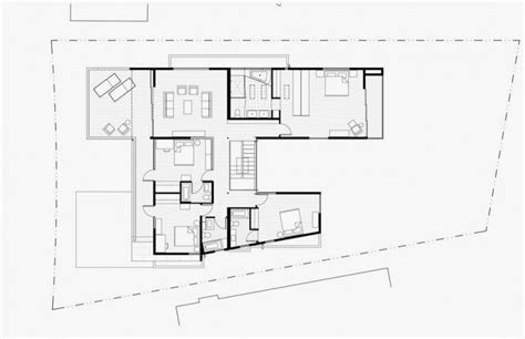 contemporary open floor plans second floor plan of modern house with many open areas