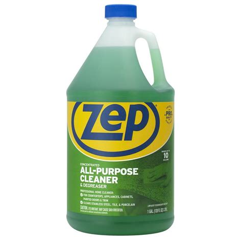 all purpose cleaner shop zep commercial all purpose cleaner degreaser 128 oz