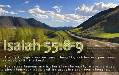 Bible Verses Isaiah Verse 55 Background Kjv