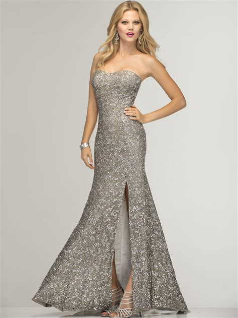 Silver Gown in The Trend Of The Year u2013 Fashion Gossip