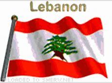 Animtaed GIF of Lebanon Flag for download Free Skype